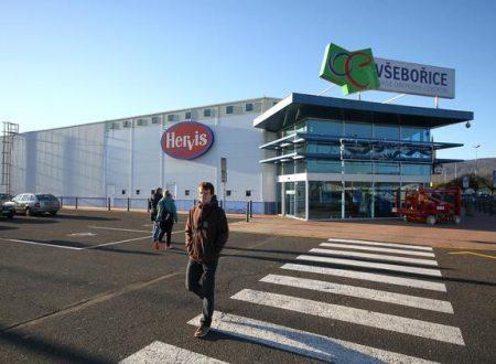 CBRE vende l'ex centro commerciale Vṥbỏrice diỦstí nad Labem nella Repubblica Ceca